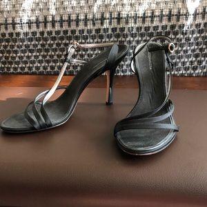 Black barely worn BCBG heels